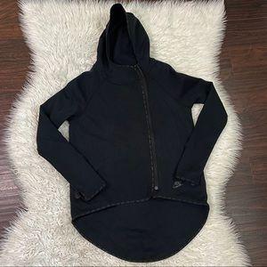 Nike Full Zip High Low Hoodie Sweater
